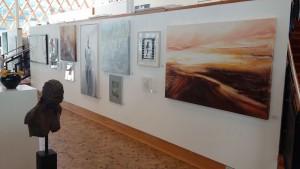 Overzichtstentoonstelling Kunstuitleen Amstelveen 2016