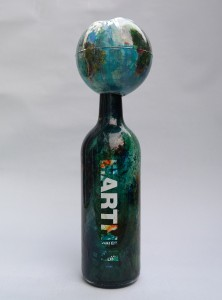 eARTh bottle, Charity AAF 2016, Earth water