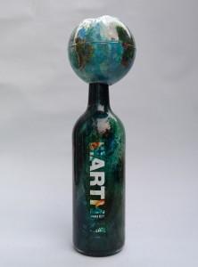 eARTh bottle, Charity AAF 2016, Earth water