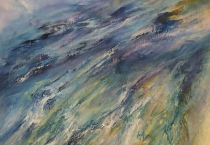 Impact after the wave 100 x 160 cm