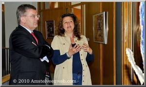Atelierroute Amstelveen, voormalig burgemeester Jan van Zanen