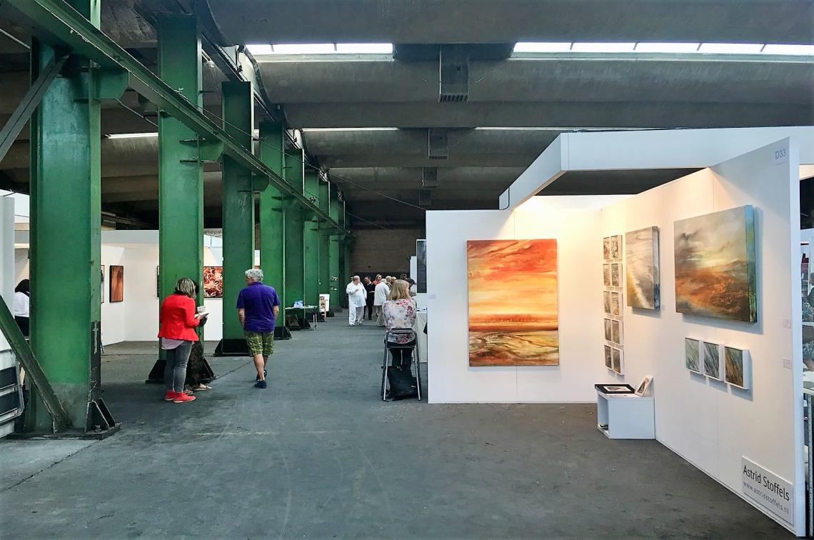 Astrid Stoffels, Tentoonstelling Art Zaanstad Event, Kunstbeurs