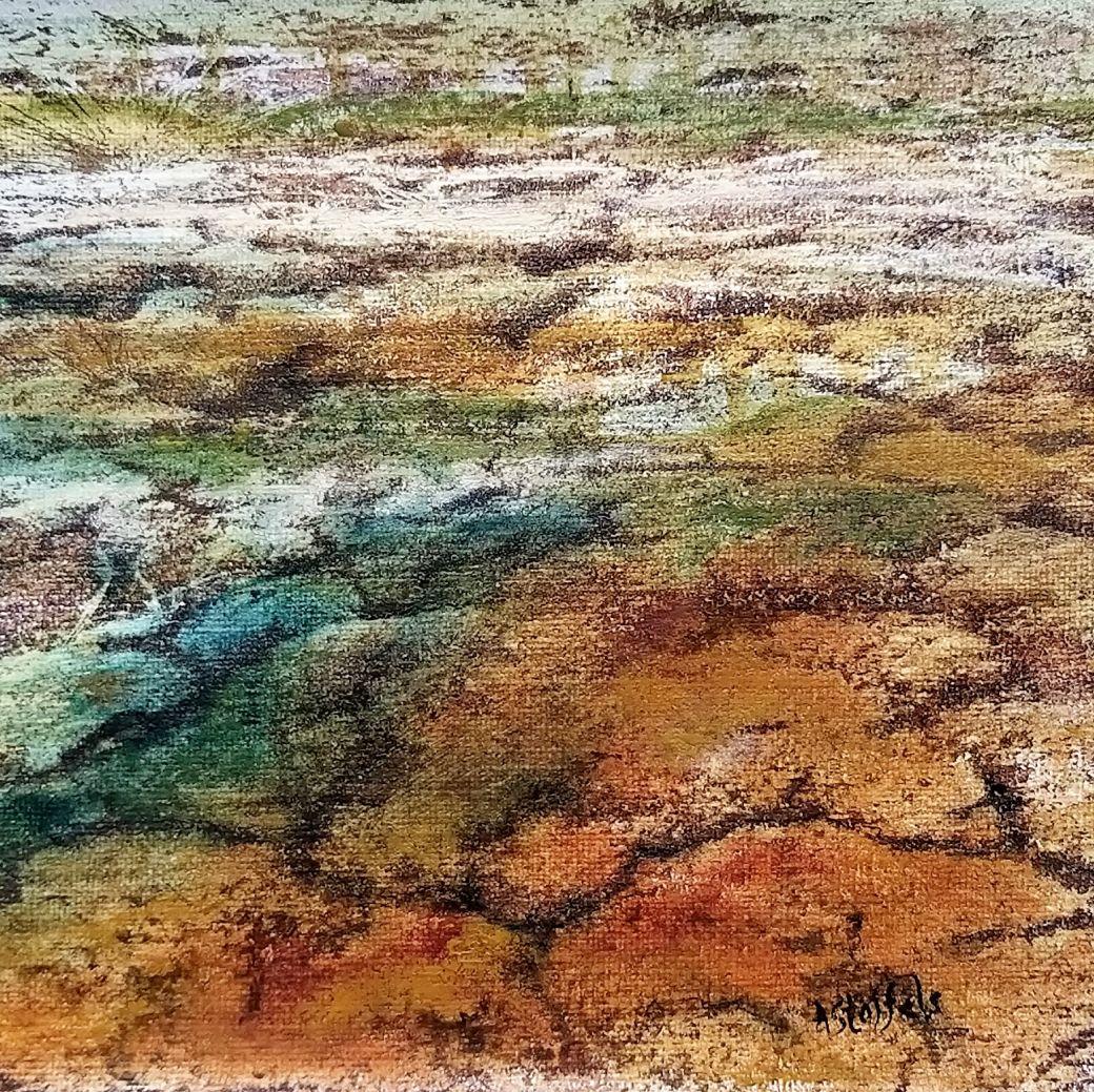 Beauty of fragile nature 1, Olieverf, mixed media, Oilpaint, Astrid Stoffels, Dutch Artist, Kunstenaar, Kunst, Contemporary Art, kunst kopen, kunst verzamelen, Art collectors, galerie, gallery, Art, Vulnerable nature,